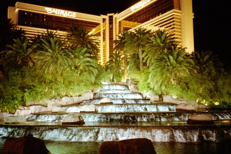 Mirage Casino Fountain